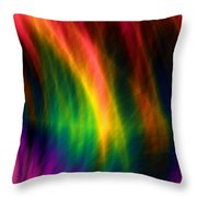 Heart Of Earth Throw Pillow