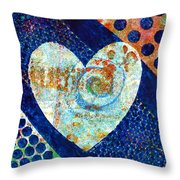 Heart Of Hearts Series - Elated Throw Pillow