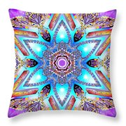 Heart Of Inner Sense Throw Pillow