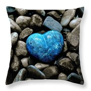 Heart Of Stone 2 Throw Pillow