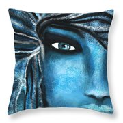 Heart Of Stone Throw Pillow by Hilda Lechuga