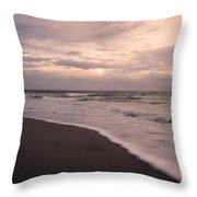 Heart Of The Evening Throw Pillow