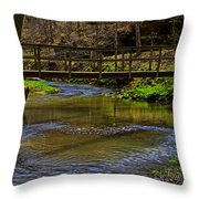 Heart Of The Woods Throw Pillow