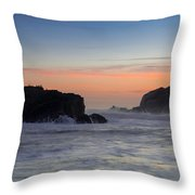 Heart Rock Throw Pillow