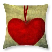 Heart Shape Throw Pillow