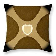 Heart Three Throw Pillow