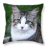 Heart You In My Eyes Throw Pillow
