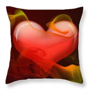 Heartbeat 4 Throw Pillow