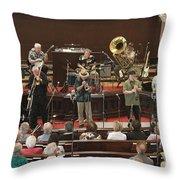 Heartbeat Dixieland Jazz Band Throw Pillow