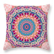 Hearts And Flowers No. 1 Throw Pillow