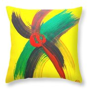 Hearts Beat - Life Goes On Throw Pillow