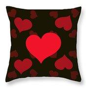 Hearty Delight Throw Pillow