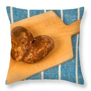 Hearty Potatoe Throw Pillow