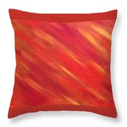 Heat Wave Throw Pillow