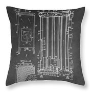 Heater Patent Throw Pillow