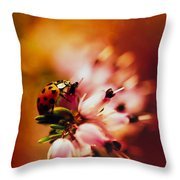 Heathers Throw Pillow