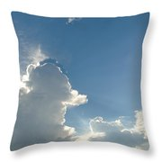 Heaven Above Throw Pillow
