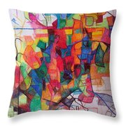 Heaven And Earth 1 Throw Pillow