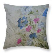 Heaven And Earth A Throw Pillow