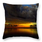Heaven And Hell Throw Pillow by Stephen Melcher