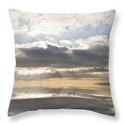 Heaven Throw Pillow by Matthew Gibson