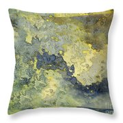 Heavenly Clouds Abstract Throw Pillow