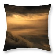 Heavenly Clouds Throw Pillow