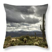 Heavenly Desert Skies  Throw Pillow