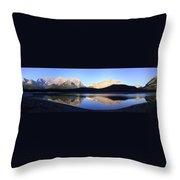 Heavenly Hike - Kananaskis Lakes, Alberta Throw Pillow