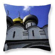 Heavenly Look - Moscow - Russia Throw Pillow