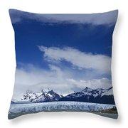 Heavenly Perito Moreno Glacier Throw Pillow