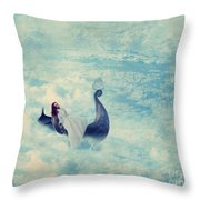 Heavenly Rest Throw Pillow