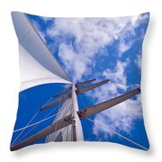 Heavenly Uncharted Throw Pillow
