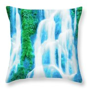 Heavenly Veil Throw Pillow
