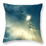 Heavens After The Rain II Throw Pillow