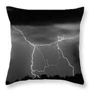 Heavens Gates Happy Easter Throw Pillow