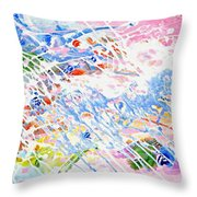 Heaven's Music Throw Pillow