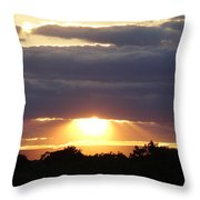 Heaven's Rays 3 Throw Pillow