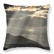 Heaven's Sunshines  Throw Pillow