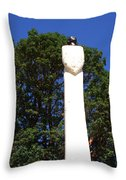 Heavenward Gaze - Sculpture - Lady Throw Pillow