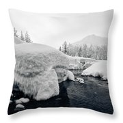 Heavy Burden Throw Pillow