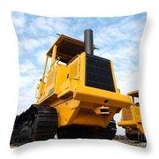 Heavy Construction Equipment Throw Pillow