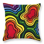 Heavy Rain Throw Pillow