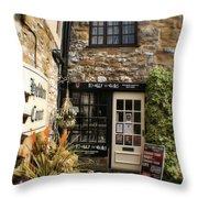 Hebden Court - Peak District - England Throw Pillow
