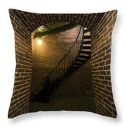 Heceta Head Lighthouse Interior 1 Throw Pillow