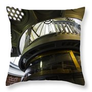 Heceta Head Lighthouse Interior 3 Throw Pillow