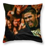 Hector Sanchez World Series 2012 Throw Pillow
