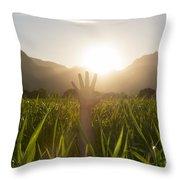 Heelllpppp Throw Pillow