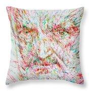 Heidegger Throw Pillow