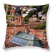 Heidelberg Church Of The Holy Spirit Throw Pillow